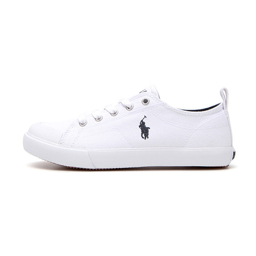 KINGSLEY / WHITE CANVAS W/ NAVY PP/ RF101621J