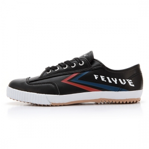 [UNISEX] FE LO / LEATHER BLACK BLUE RED / F10052M