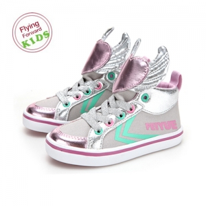 DELTA KID WINGS SILVER PINK / F30145T