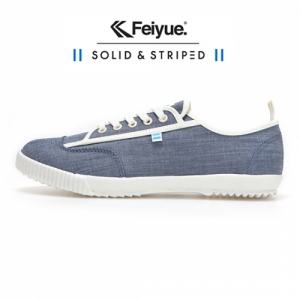 SOLID AND STRIPED X FE LO VALERIE BLUE CHAMBRAY / F20196W
