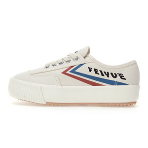 [UNISEX] PLAIN PLATFORM / ECRU BLUE RED / F20229W