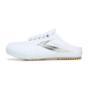 [4월10일부터 순차배송]FE LO MULE/WHITE CANVAS SILVER/ FW100078