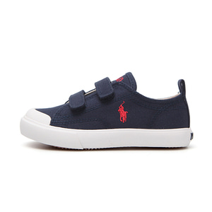 [CHILD] KINGSLEY EZ / NAVY CANVAS W/ RED PP/ RF101615C