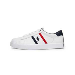 [JUNIOR] GEOFF II / WHITE TUMBLED/WHITE/NAVY/RED W/ NAVY PP / RF101749J