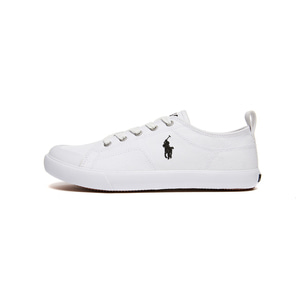 [JUNIOR] KINGSLEY / WHITE CANVAS W/ BLACK PP / RF102010J