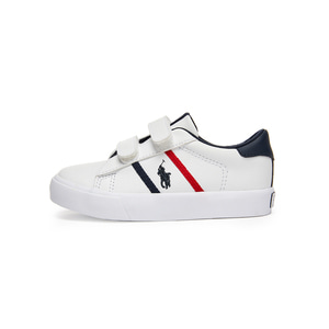 [TODDLER] GEOFF II EZ / WHITE TUMBLED/WHITE/NAVY/RED W/ NAVY PP / RF101752T