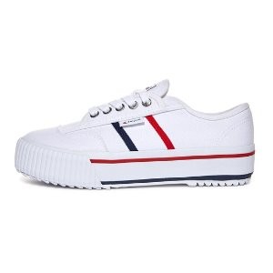 [페이유에] FE LO PLAIN PLATFORM / WHITE/RED/NAVY / FUS10007