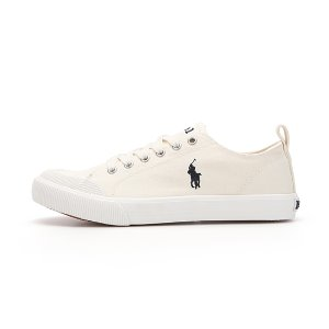 [JUNIOR] KESWICK / CREAM CANVAS W/ NAVY PP / RF102349J