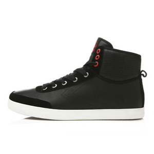 A.S HIGH LEATHER BLACK / 00910446