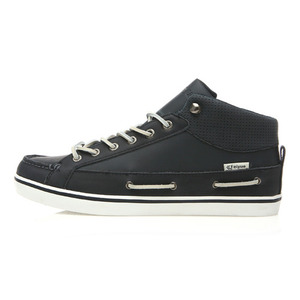 DELTA BOAT LEATHER NAVY / 00440404
