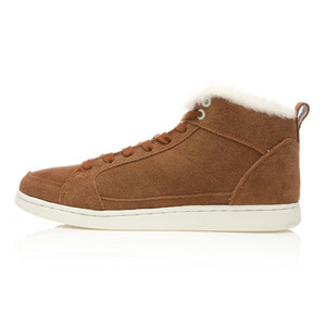 STREET SUEDE FUR CAMEL BROWN / 01260449