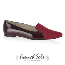 PENELOPE SLIPPER BURGUNDY / PES05