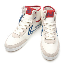 A.S HIGH CLASSIQUE WHITE BLUE RED / 00900517