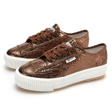 [UNISEX] PLAIN PLATFORM / METALLIC COPPER / F20073W_SIZE:35/36