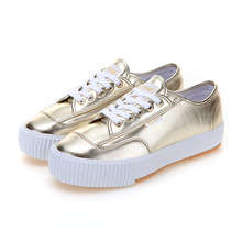 PLAIN PLATFORM TL GOLD CHROME / F20256W