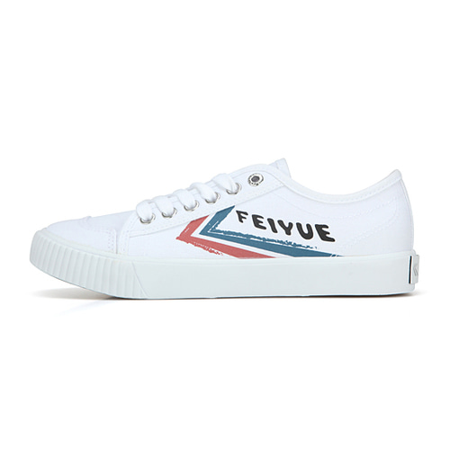 [UNISEX]FE LO II GRAFFIT/WHITE CANVAS BLUE RED/ FM100030
