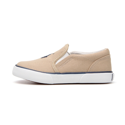 [CHILD] BAL HARBOUR II / KHAKI CANVAS W/ NAVY PP/ RF100665C