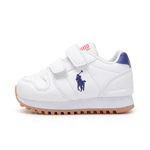 [TODDLER] ORYION EZ / WHITE TUMBLED W/ ROYAL PP/ RF101685T