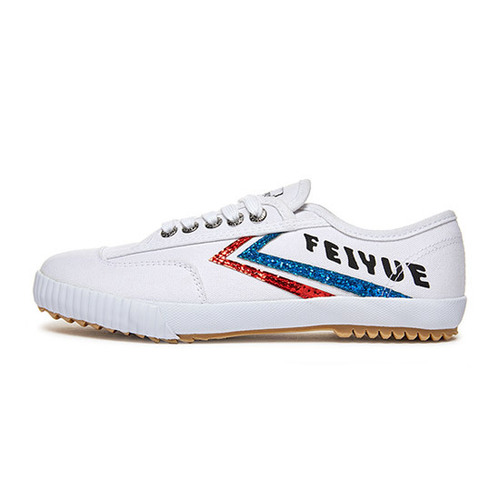 [FEIYUE] [WOMENS] FE LO PLAIN GLITTER / WHITE/BLUE/RED / FUS10003