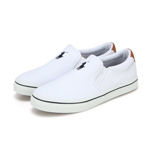 THOMPSON /WHITE CANVAS W/ NAVY PP / RF102209J