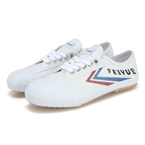 [페이유에]FE LO CLASSIC/WHITE PERFORATED SMOOTH/FU100077