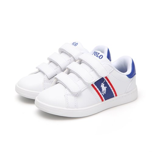 [CHILD] QUIGLEY EZ / WHITE SMOOTH/ROYAL/RED W/ WHITE PP/ RF101633C